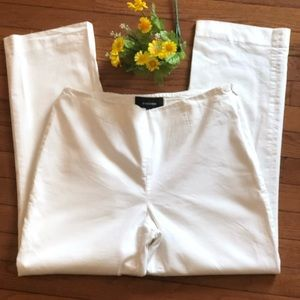 Jones Wear White Linen Pants Size 8